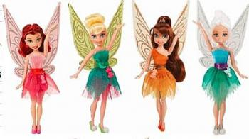 Disney Víly  22 cm klasická panenka