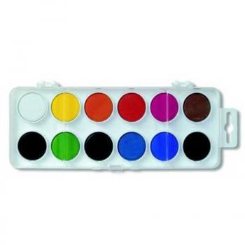 Barvy vodové velké 30mm