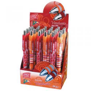 Pero kuličkové Venturio oranžovo-červené