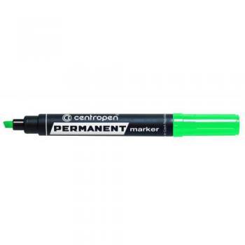 Značkovač 8576/1 zelený permanent alkoholová báze klínový