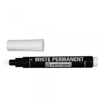 Značkovač 8586/1 bílý permanent