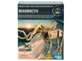 Mamut skládací kostra