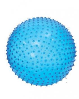 Skákací a masážní míč 45cm modrý