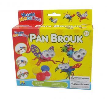Veselá modelína Pan brouk
