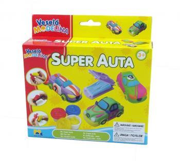 Veselá modelína Super auta