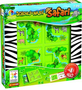 Smart Safari - Schovej a najdi