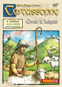 Carcassonne rozšíření 9 Ovce a kopce
