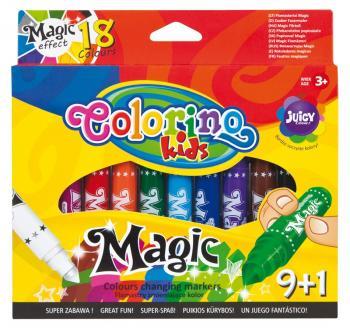 Colorino Dětské popisovače 9+1ks, měnící barvy