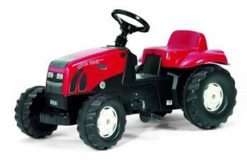 Šlapací traktor Zetor červený