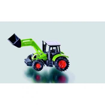 SIKU Blister Traktor Claas Ares s čelním nakladačem