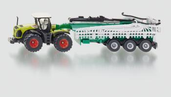 SIKU Farmer - Traktor Claas Xerion w cisternou, 1:87