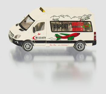 SIKU Super Taxi Minivan