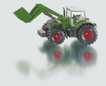 SIKU Farmer - traktor Fendt s předním nakladačem