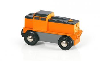 Elektrická nákladní lokomotiva, jezdí jen dopředu