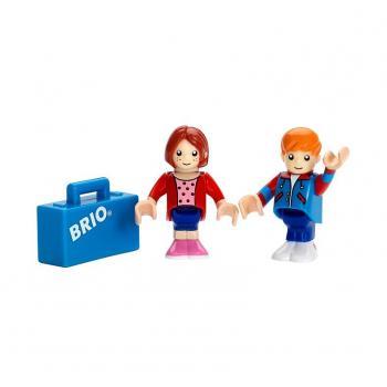 Panáček a panenka s kufrem