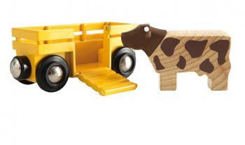 Vagón s kravičkou