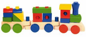 Woody Skládací nákladní vlak - dva vagony
