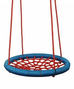 Houpací kruh průměr 100 cm červeno-modrý