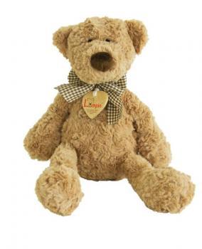 Medvěd Lumpin s mašlí 33 cm