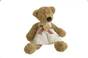 Medvědice Lumpinka s mašlí  33 cm