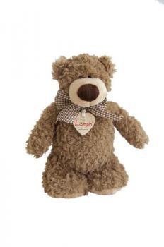 Medvěd Denis s mašlí  22 cm