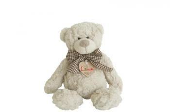 Medvěd Spencer s mašlí  26 cm