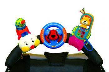 Veselé hračky na přichycení suchým zipem K´s Kids