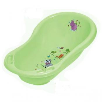 Zelená vanička Hippo