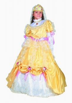 kostým princezna Zlatava velikost S