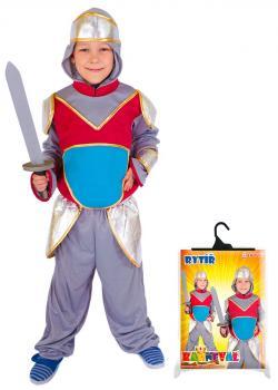 Karnevalový kostým rytíř, velikost S