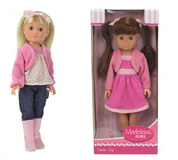 Panenka Madeleine v moderním oblečení, 36 cm