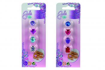 Sada prstýnků pro holčičky, 2druhy