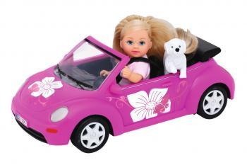 Panenka Steffi Love Evička s autem New Beetle.