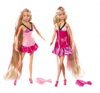 Panenka Steffi s extra dlouhými vlasy