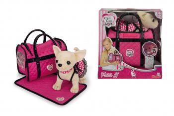 Pejsek ChiChi Love Paris II s taškou