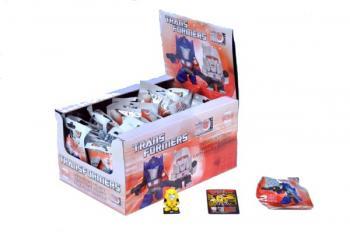 Figurka Transformers 4 cm s puzzle kartičkou II. serie