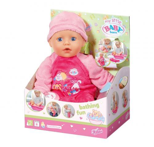 My Little Baby Born Koupací panenka