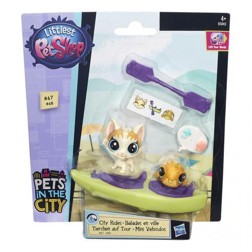 Littlest Pet Shop Zvířátko s kamarádem a vozidlem, více druhů
