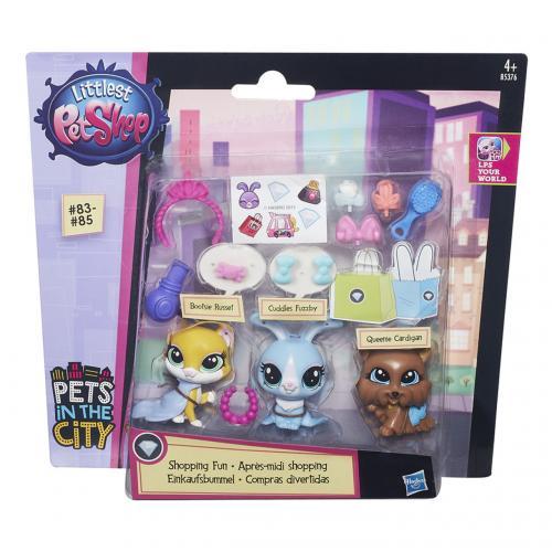 Littlest Pet Shop Zvířátko s doplňkem, více druhů