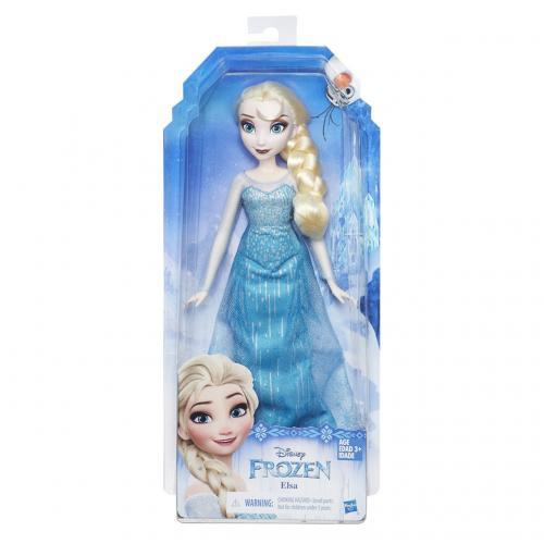 Ledové království Klasická panenka Elsa