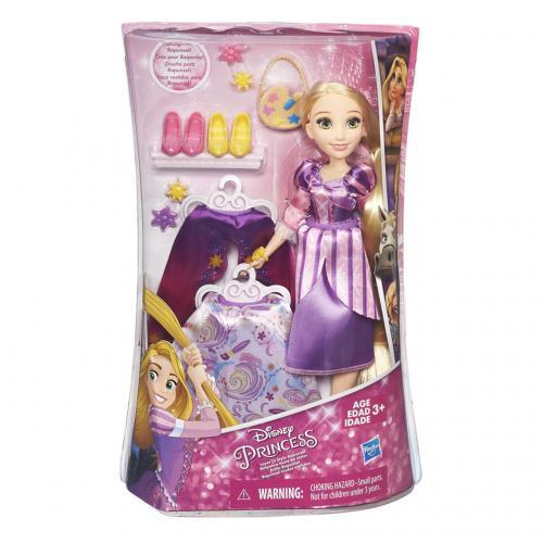 Disney Princezny Panenka s náhradními šaty, více druhů