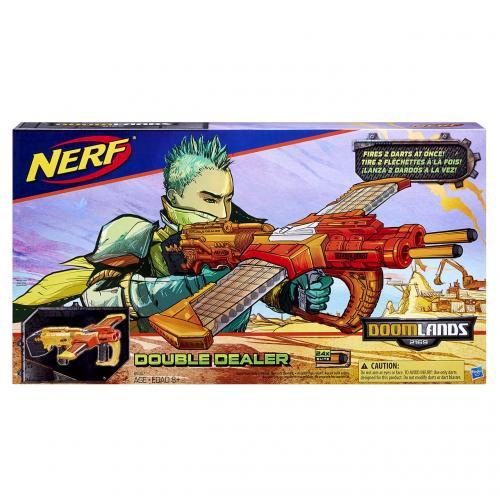 Hasbro Nerf Doomlands pistole double dealer 24 nábojů