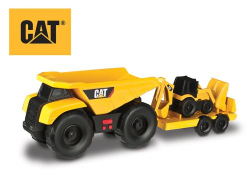 CAT Sklápěčka, tahač + Nakladač 32cm