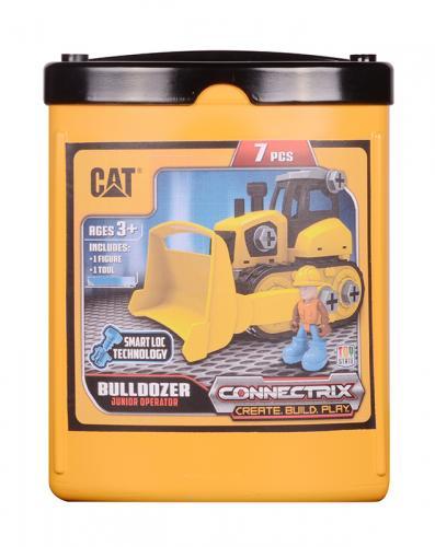 CAT Stavebnice - Buldozer 18cm