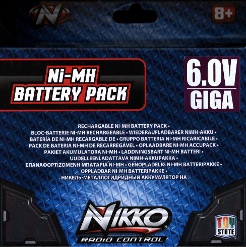 Nikko 6.0 V baterie Vaporizr