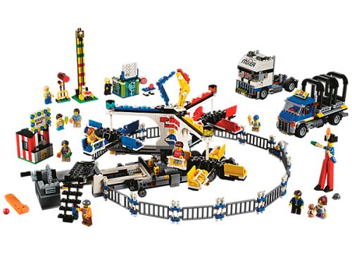 LEGO Creator Expert 10244 Pouťová atrakce mixér