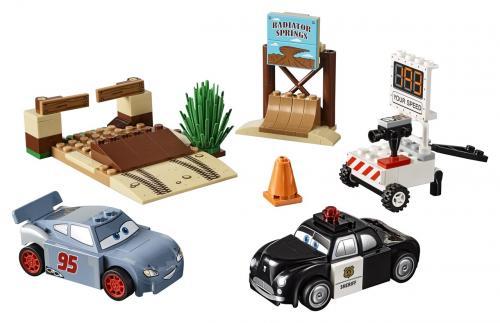LEGO Disney Juniors 10742 Závodní okruh Willy's Butte