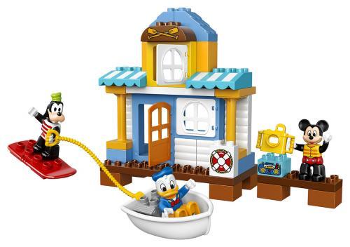 LEGO DUPLO Disney TM 10827 Mickey a jeho kamarádi v domě na pláži