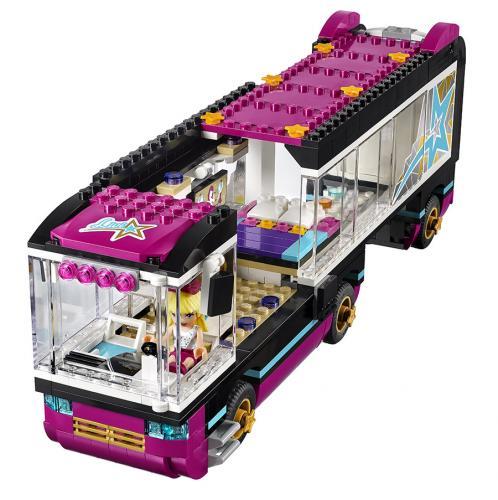 LEGO Friends Popstar 41106 Autobus pro turné popových hvězd