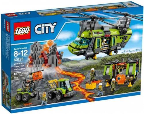 Lego City 60125 Sopečná nákladní helikoptéra